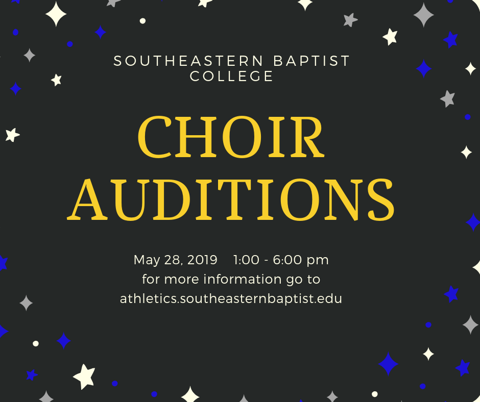 CHOIR AUDITIONS