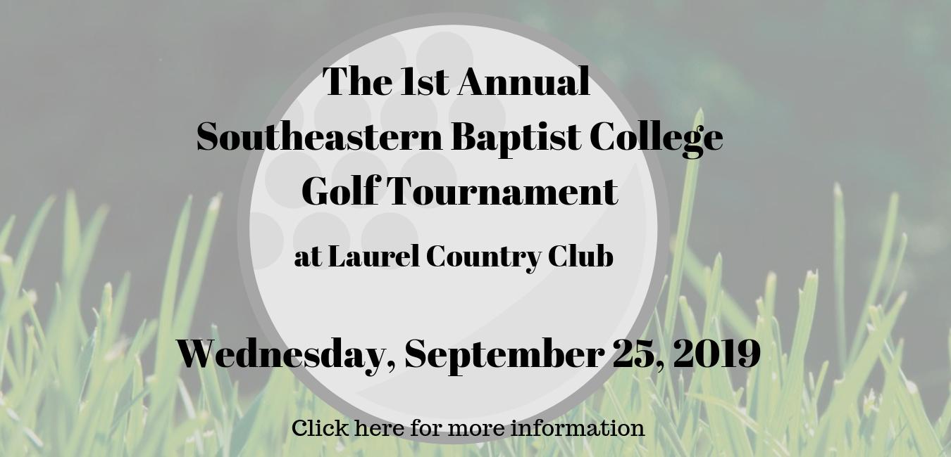 The 1st Annual SBC Golf Tournament